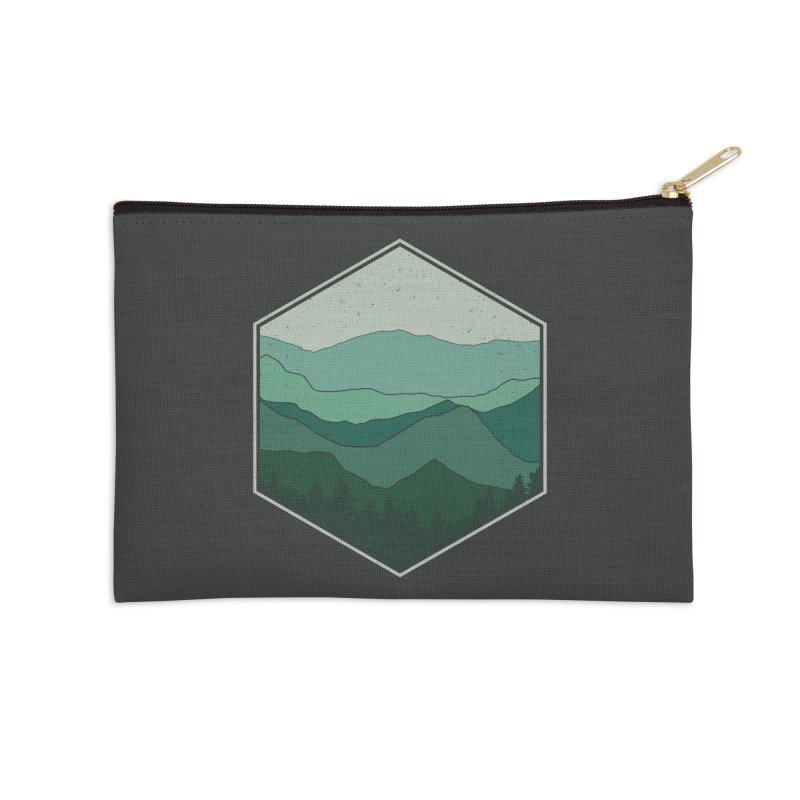 The horizon Accessories Zip Pouch by YANMOS
