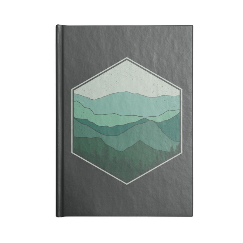 The horizon Accessories Blank Journal Notebook by YANMOS