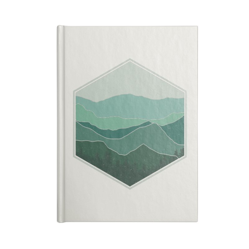 The horizon Accessories Lined Journal Notebook by YANMOS