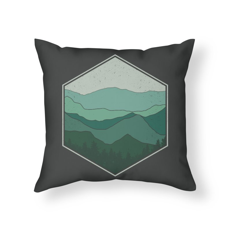 The horizon Home Throw Pillow by YANMOS