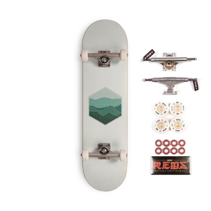The horizon Accessories Complete - Pro Skateboard by YANMOS