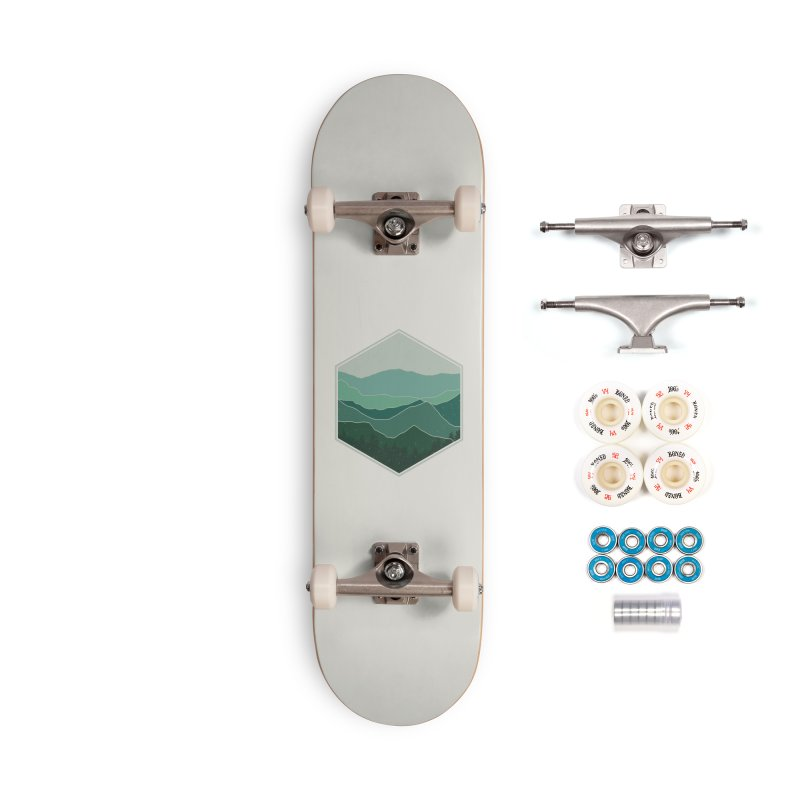The horizon Accessories Complete - Premium Skateboard by YANMOS