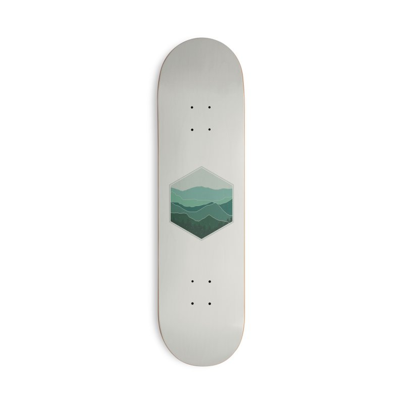 The horizon Accessories Deck Only Skateboard by YANMOS