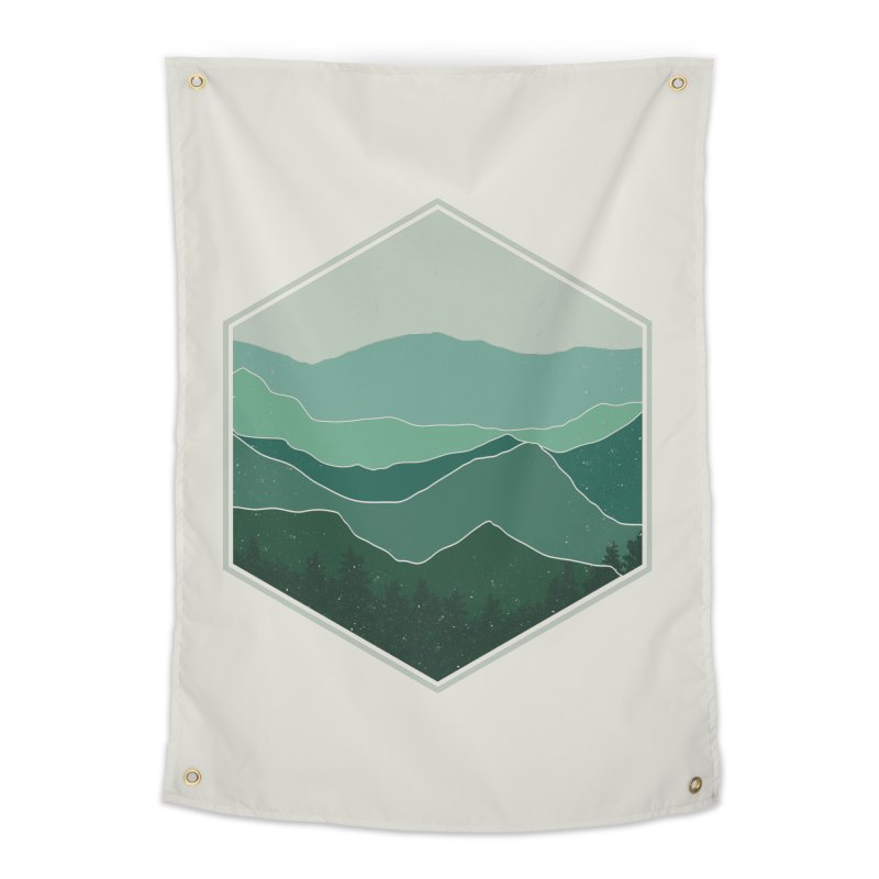 The horizon Home Tapestry by YANMOS