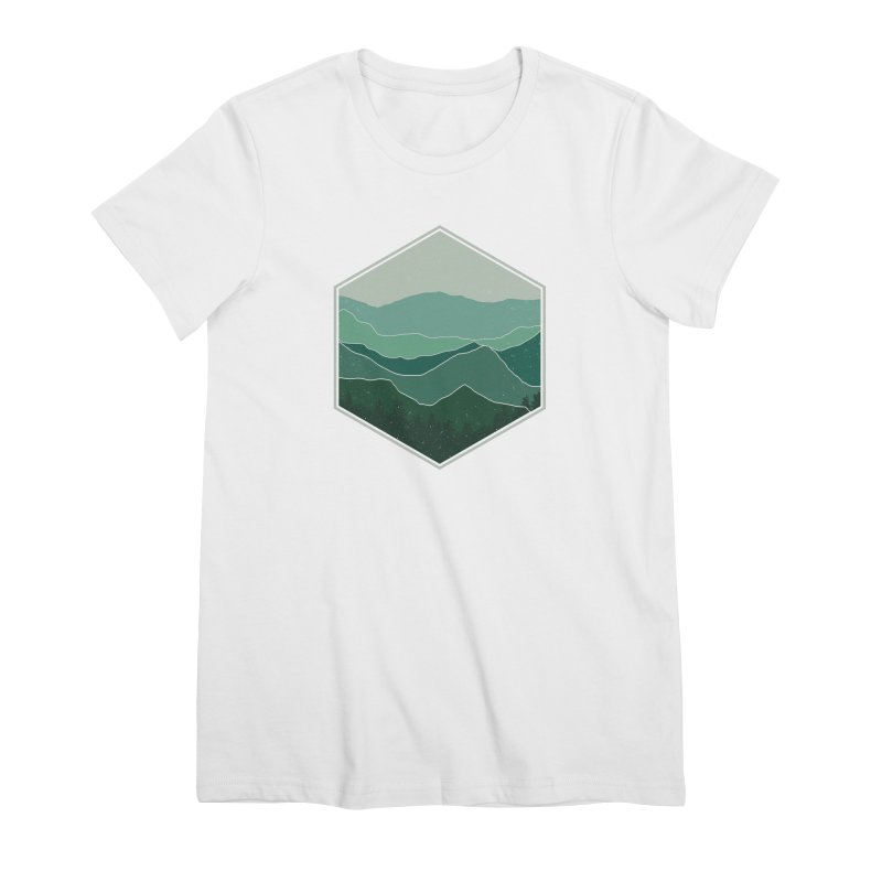 The horizon Women's Premium T-Shirt by YANMOS