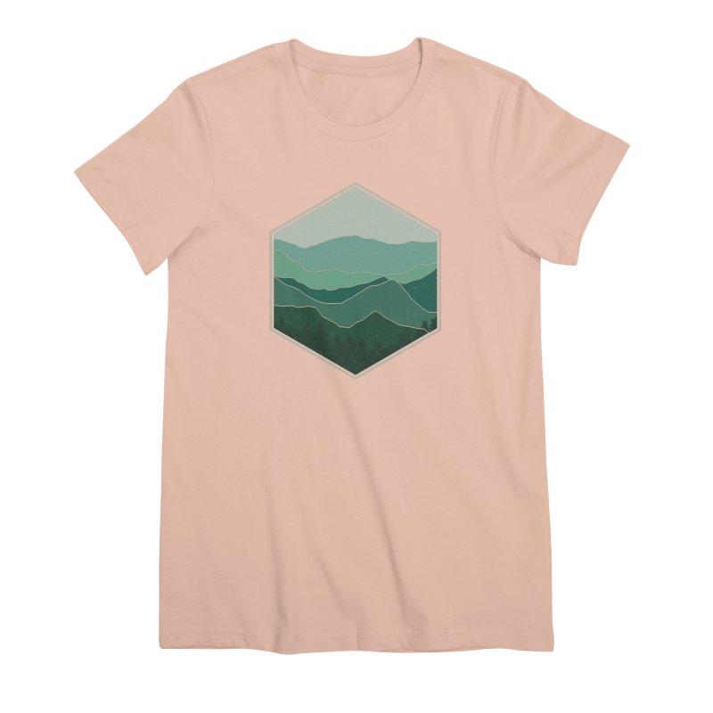 The horizon Women's Premium T-Shirt by YANMOS