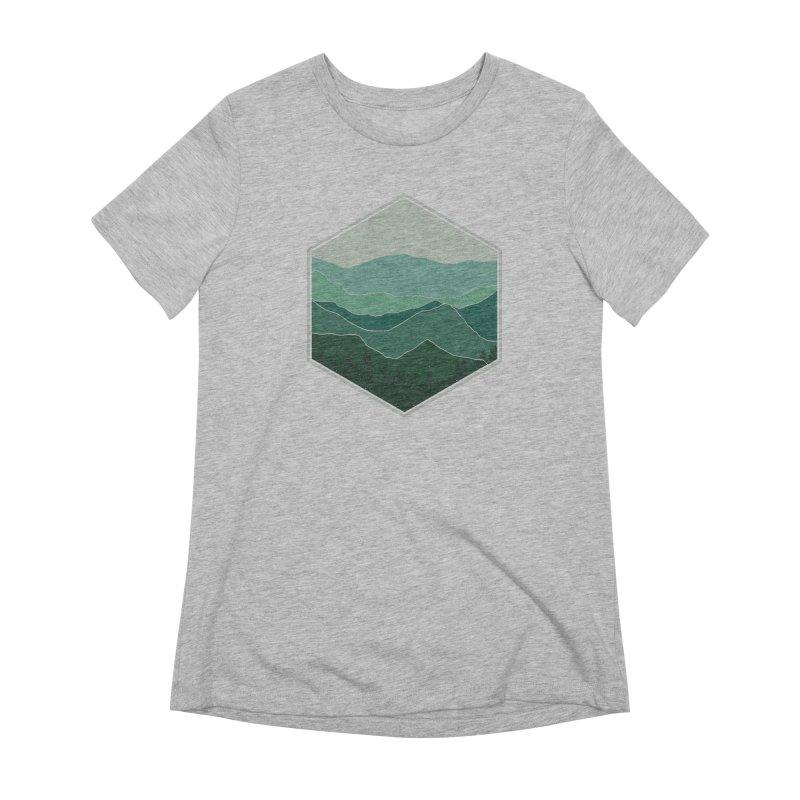 The horizon Women's Extra Soft T-Shirt by YANMOS