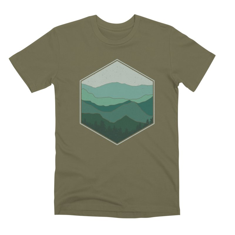 The horizon Men's Premium T-Shirt by YANMOS
