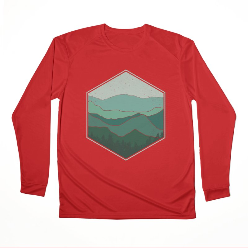 The horizon Men's Performance Longsleeve T-Shirt by YANMOS