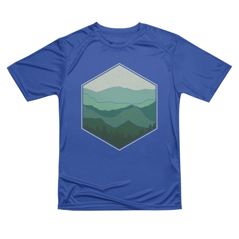 The horizon Women's Performance Unisex T-Shirt by YANMOS