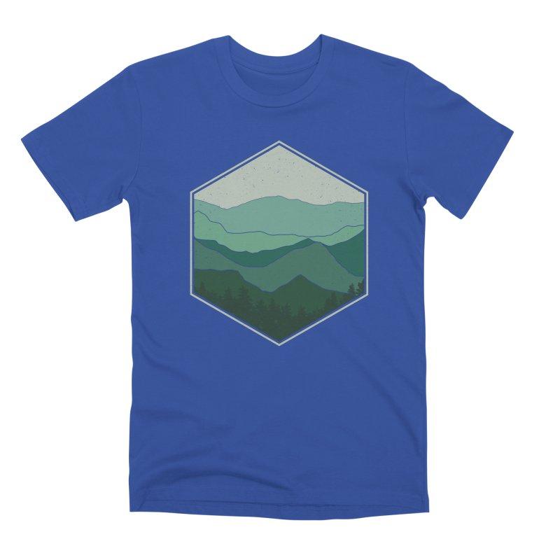 The horizon Men's Premium T-Shirt by YANMOS