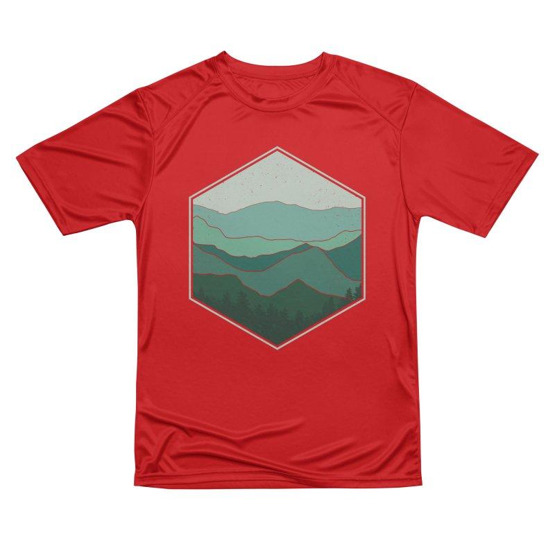 The horizon Men's Performance T-Shirt by YANMOS