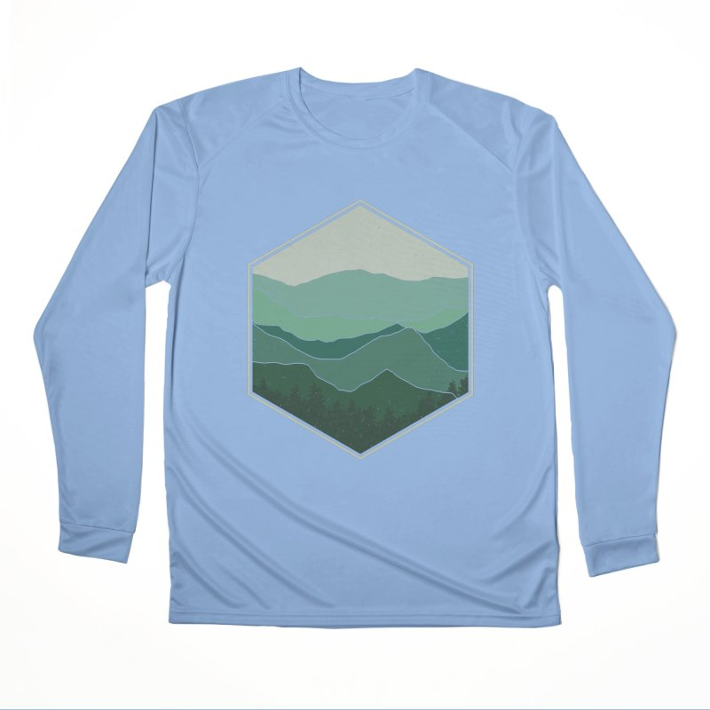 The horizon Women's Performance Unisex Longsleeve T-Shirt by YANMOS