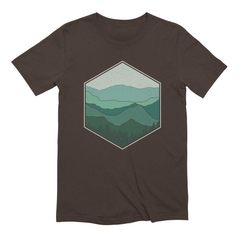 The horizon Men's Extra Soft T-Shirt by YANMOS