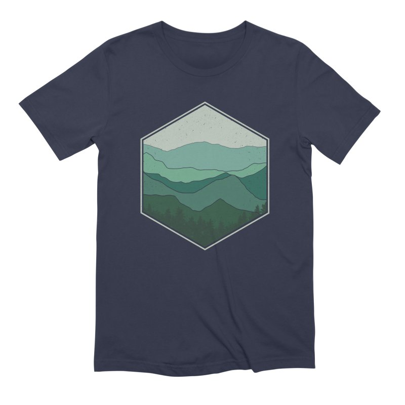 The horizon Men's Extra Soft T-Shirt by YANMOS