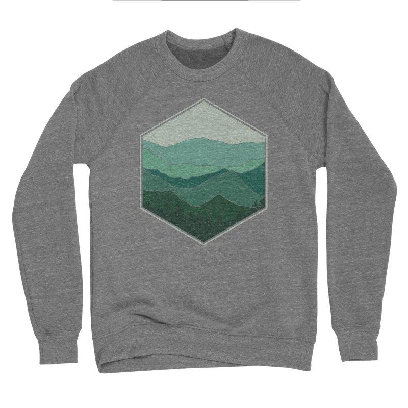 The horizon Men's Sponge Fleece Sweatshirt by YANMOS
