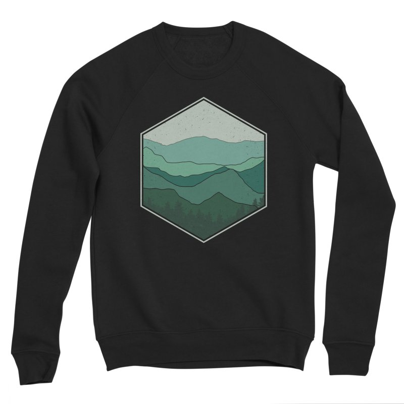The horizon Men's Sponge Fleece Sweatshirt by YANMOS