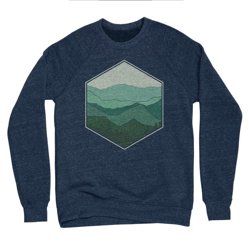 The horizon Women's Sponge Fleece Sweatshirt by YANMOS
