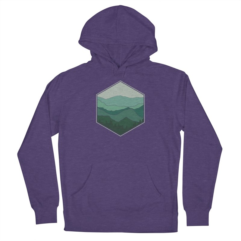 The horizon Women's French Terry Pullover Hoody by YANMOS
