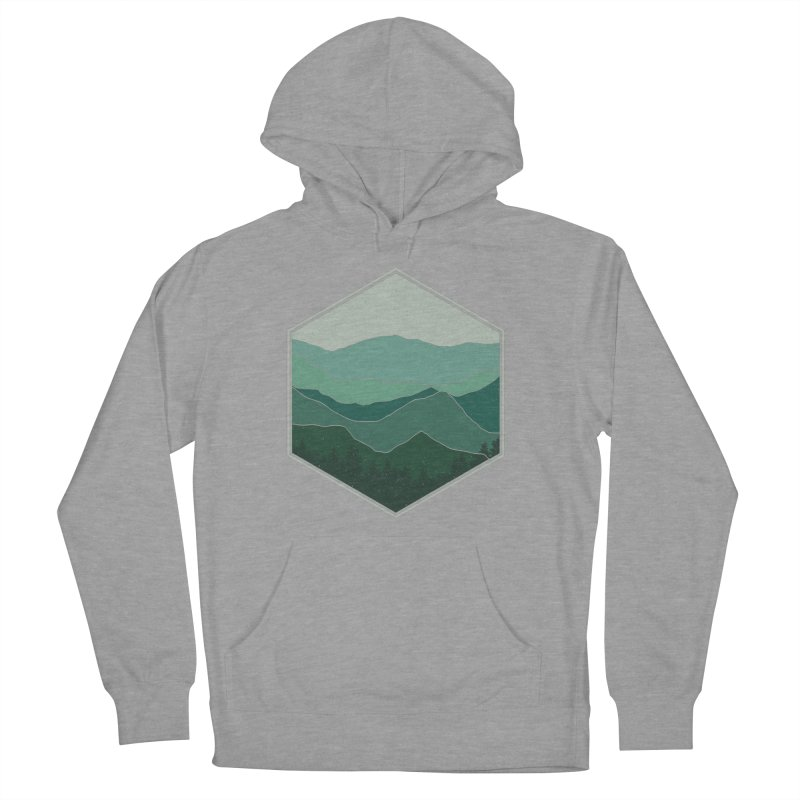 The horizon Men's French Terry Pullover Hoody by YANMOS