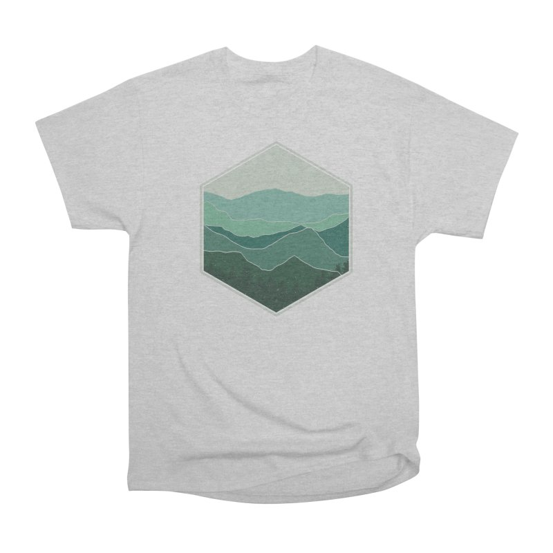 The horizon Men's Heavyweight T-Shirt by YANMOS