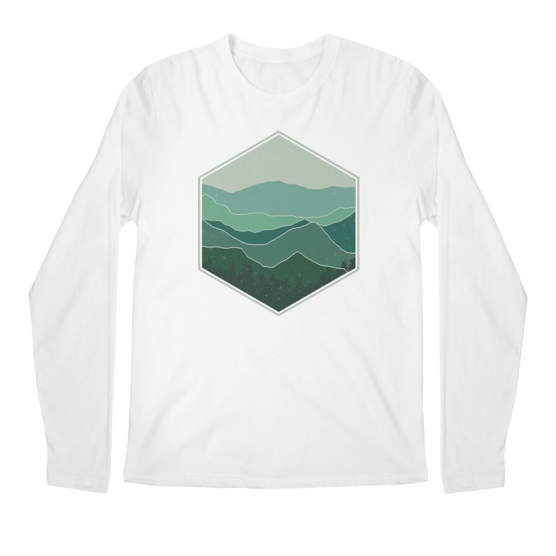 The horizon Men's Regular Longsleeve T-Shirt by YANMOS