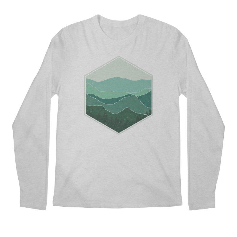 The horizon Men's Regular Longsleeve T-Shirt by YANMOS