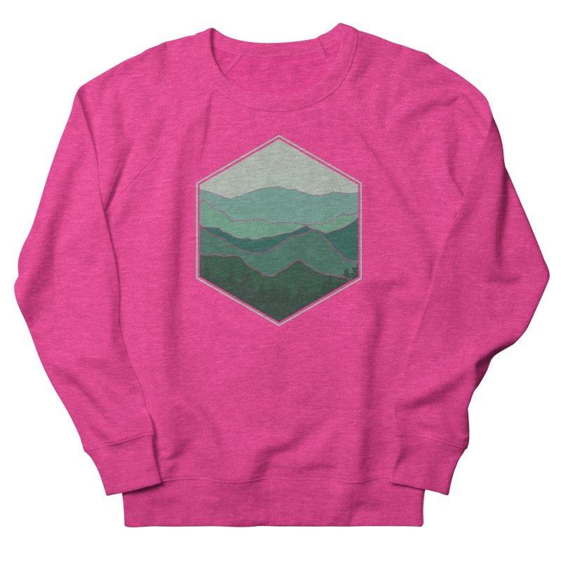 The horizon Women's French Terry Sweatshirt by YANMOS