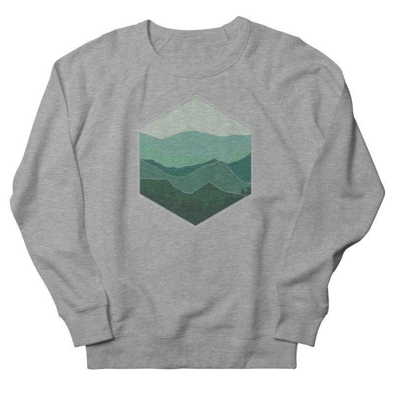 The horizon Men's French Terry Sweatshirt by YANMOS