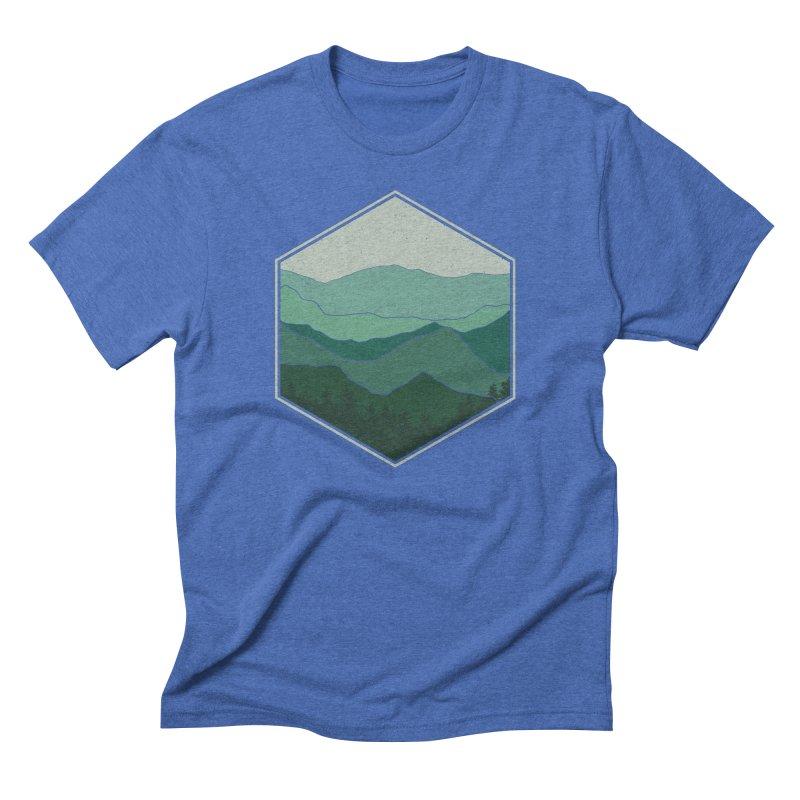 The horizon Men's Triblend T-Shirt by YANMOS