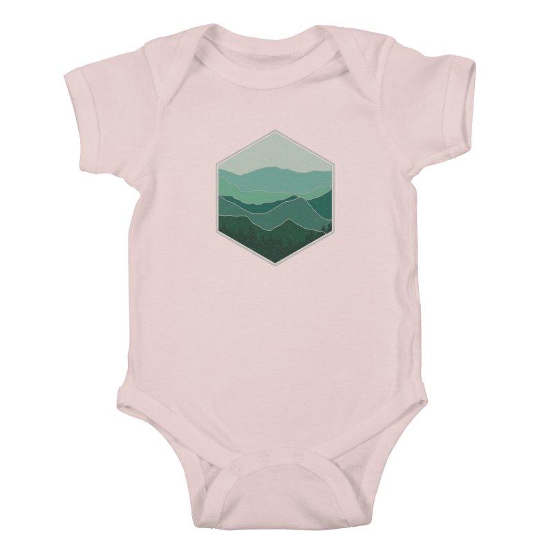 The horizon Kids Baby Bodysuit by YANMOS