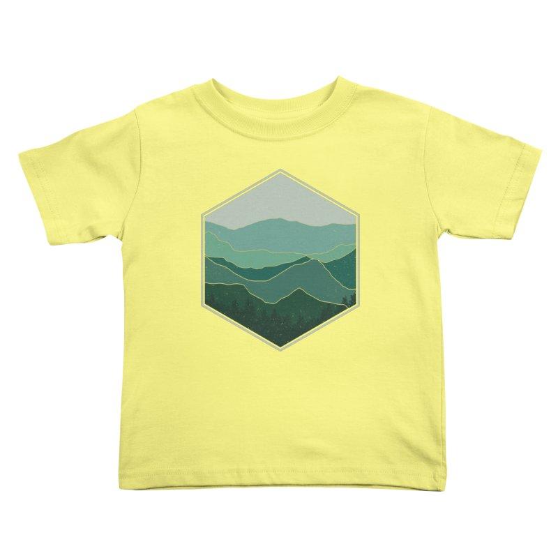 The horizon Kids Toddler T-Shirt by YANMOS
