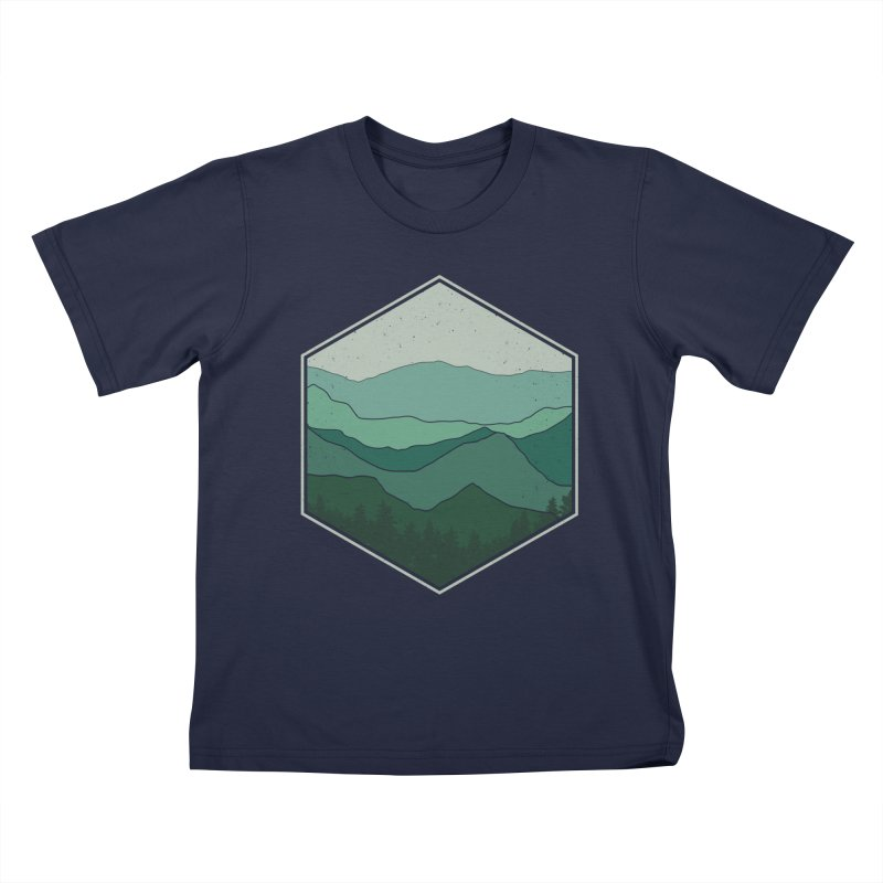 The horizon Kids T-Shirt by YANMOS