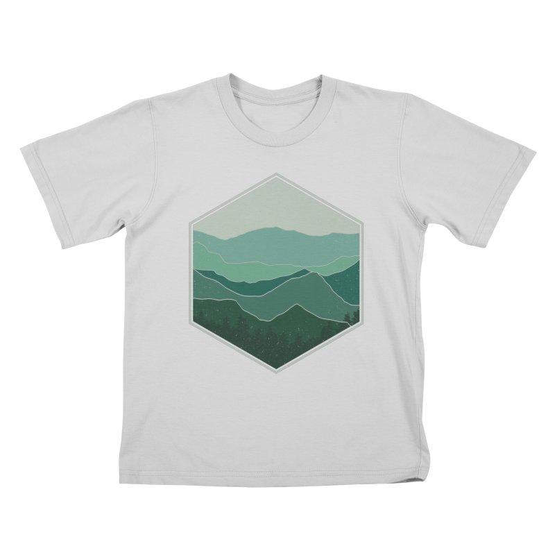 The horizon Kids T-Shirt by YANMOS