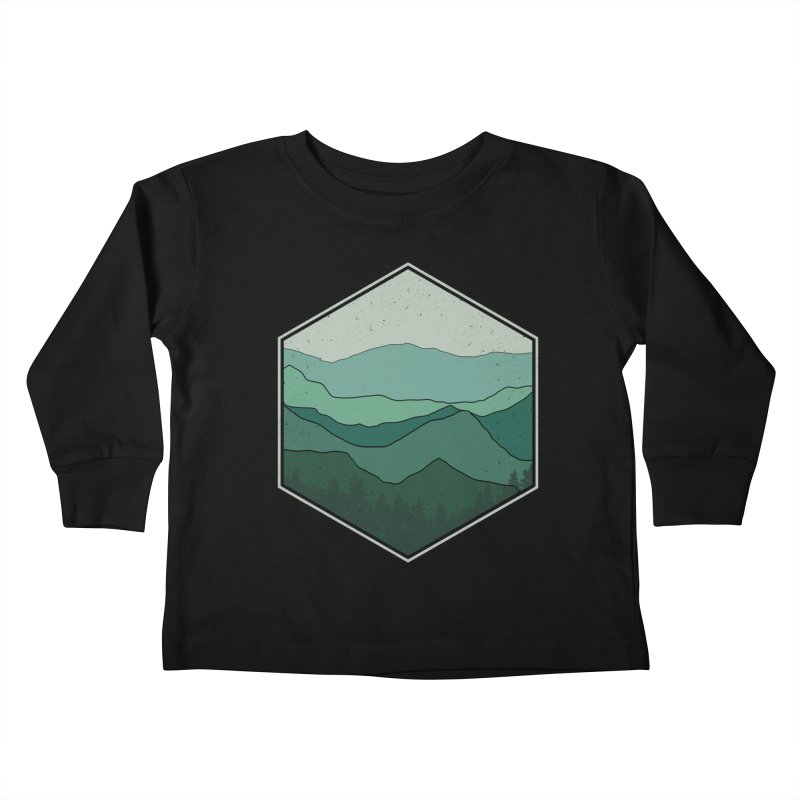 The horizon Kids Toddler Longsleeve T-Shirt by YANMOS