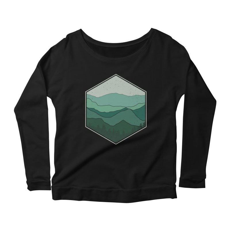 The horizon Women's Scoop Neck Longsleeve T-Shirt by YANMOS