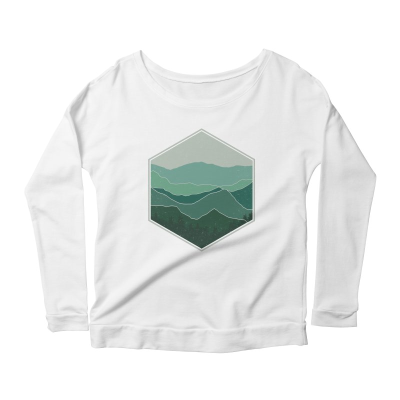 The horizon Women's Scoop Neck Longsleeve T-Shirt by YANMOS