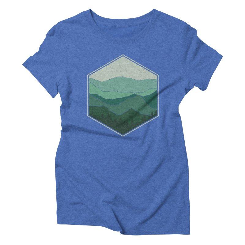 The horizon Women's Triblend T-Shirt by YANMOS