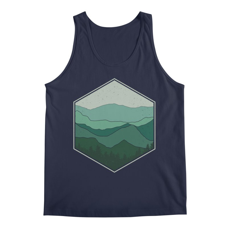 The horizon Men's Regular Tank by YANMOS