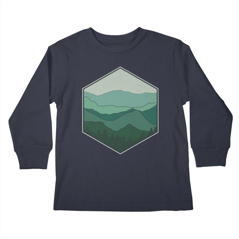 The horizon Kids Longsleeve T-Shirt by YANMOS