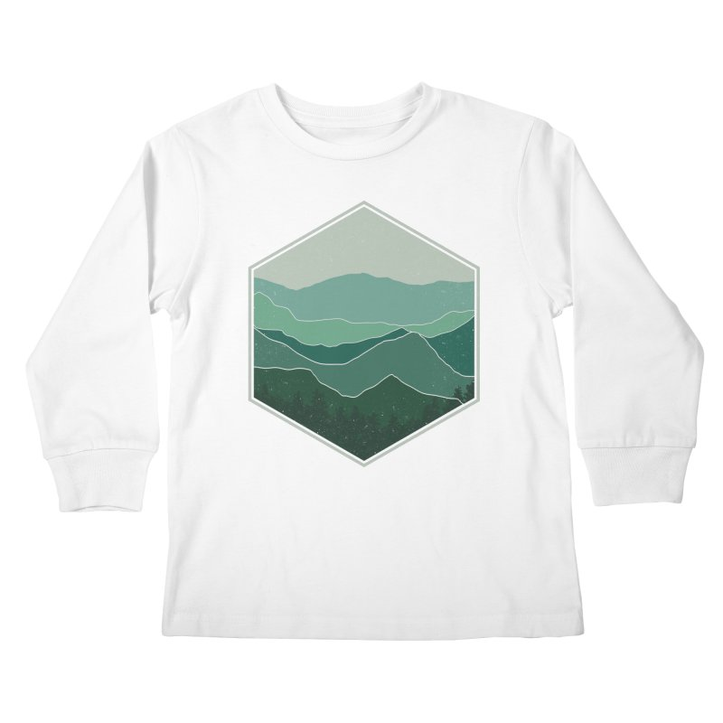 The horizon Kids Longsleeve T-Shirt by YANMOS