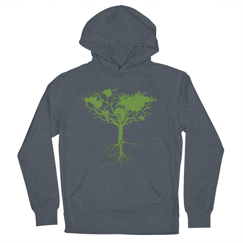 Earth Tree Women's Pullover Hoody by Yanmos's Artist Shop