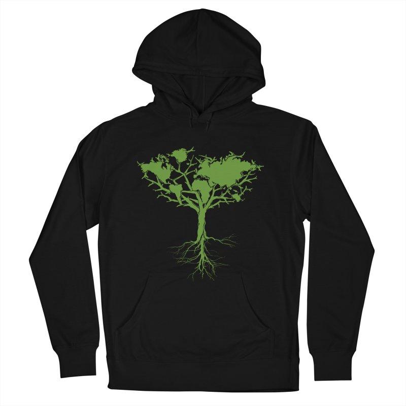 Earth Tree Men's Pullover Hoody by Yanmos's Artist Shop