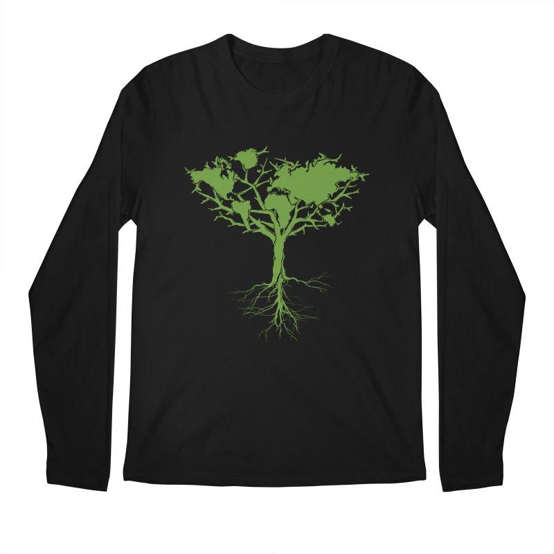 Earth Tree Men's Longsleeve T-Shirt by Yanmos's Artist Shop