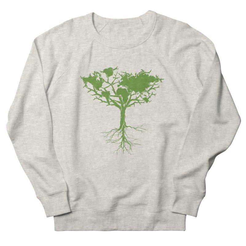 Earth Tree Women's Sweatshirt by Yanmos's Artist Shop