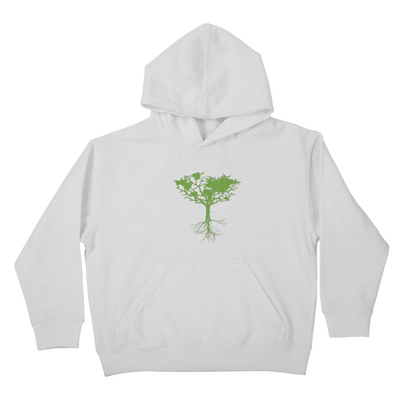 Earth Tree Kids Pullover Hoody by Yanmos's Artist Shop