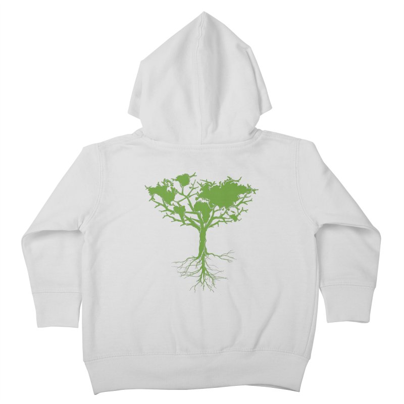 Earth Tree Kids Toddler Zip-Up Hoody by Yanmos's Artist Shop