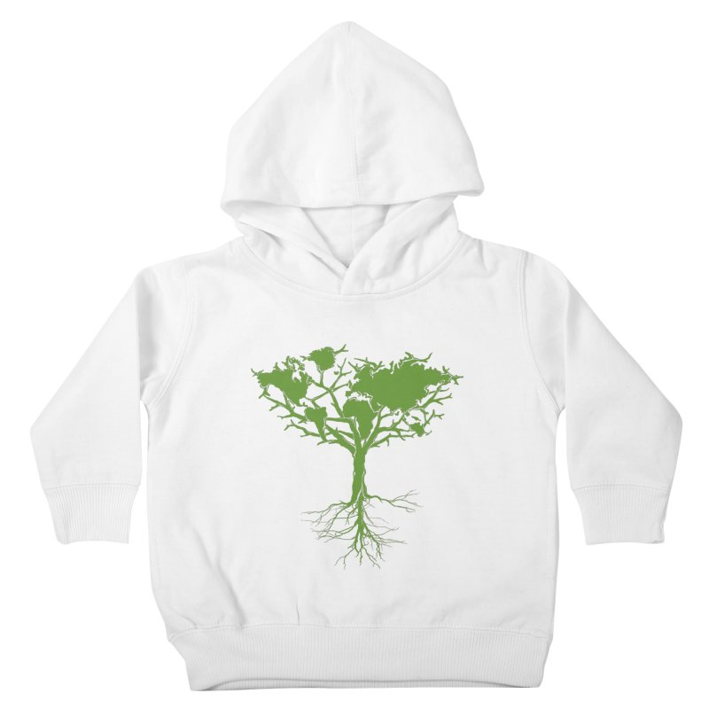 Earth Tree Kids Toddler Pullover Hoody by Yanmos's Artist Shop