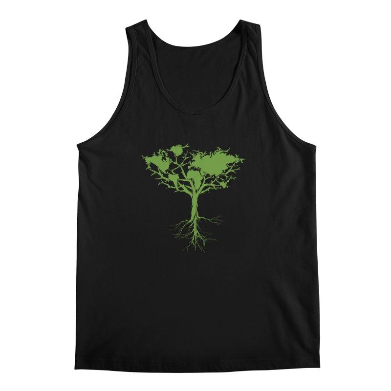 Earth Tree Men's Tank by Yanmos's Artist Shop