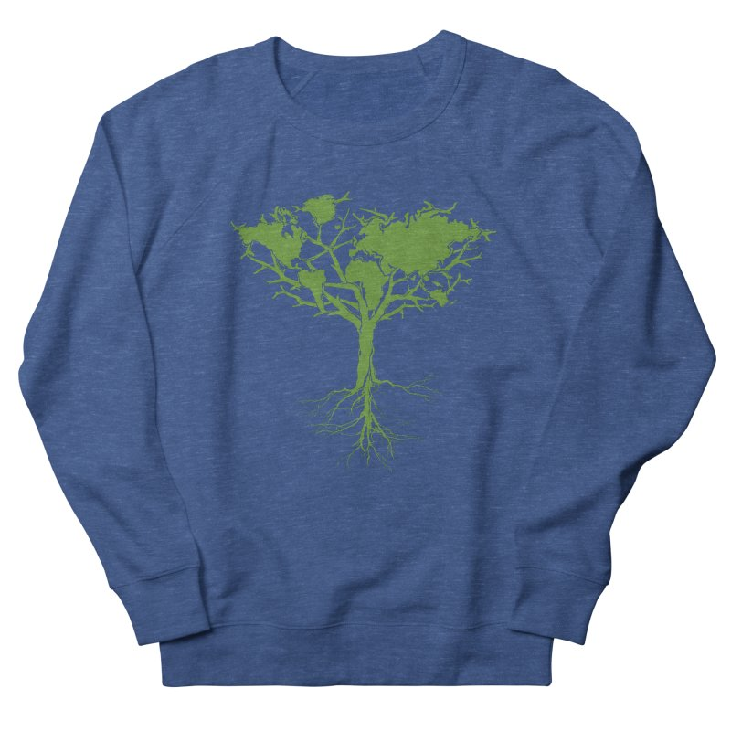 Earth Tree Women's Sweatshirt by YANMOS